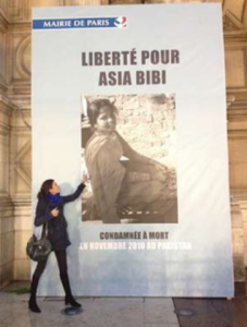 Mairie de Paris Asia Bibi Anne Isabelle Tollet
