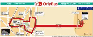 Carte Orlybus