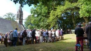 Pardon de la Fontaine Blanche 15 août 2015 - Le clocher et sa cloche