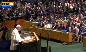 Le pape ONU mariage gay