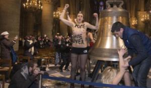 Femen Gardiens de Notre-Dame