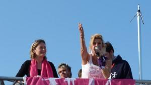 Frigide Barjot et Ludovine de La Rochère Invalides 2013