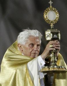 dimanche Benoît XVI marienfeld