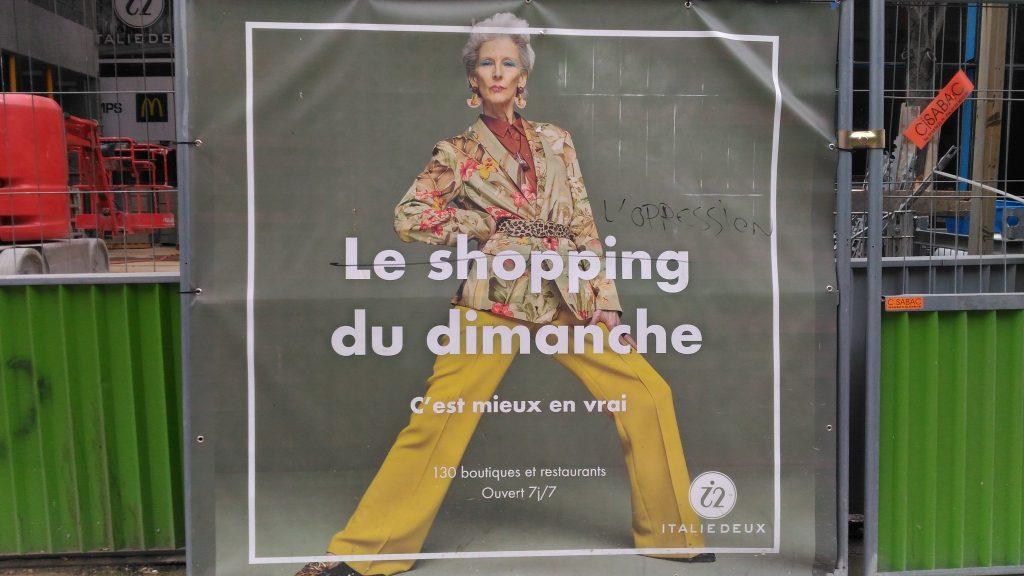 le shopping du dimanche